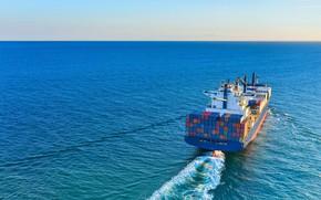 Picture the ocean, ship, a container ship, a cargo ship, Forwarding & Transport, Seacon Logistics, Экспедирование …