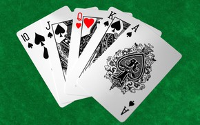 Picture card, the game, casino