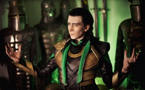Picture God, cosplay, Loki