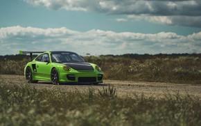 Picture Porsche, Green, GT2