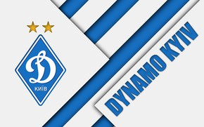 Picture wallpaper, sport, logo, football, Ukrainian Premier League, Dynamo Kyiv