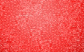 Picture red, abstraction, background, pattern, geometry, triangle