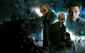 Picture Quantic Dream, Detroit, Game, Characters, Detroit Become Human