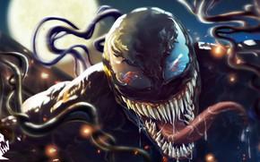 Picture Language, Teeth, Art, Comics, MARVEL, Concept Art, Venom, Venom, Spider Man, Symbiote, MARVEL Comics, Comic …
