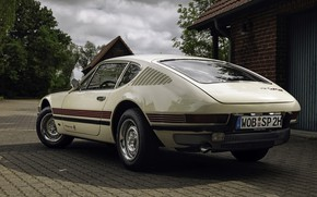 Picture coupe, Volkswagen, back, 1972, SP2