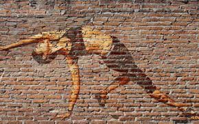 Picture wall, graffiti, photoshop, picture
