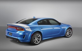 Picture Dodge, rear view, Charger, Hellcat, SRT, Widebody, Daytona, 50th Anniversary Edition, 2019