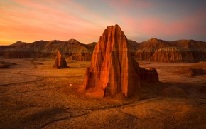 Picture mountains, rocks, desert, USA, canyons