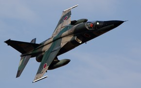 Picture Japan, Japan, The air defense forces of Japan, Mitsubishi F-1, Mitsubishi Heavy Industries, The self-defense ...