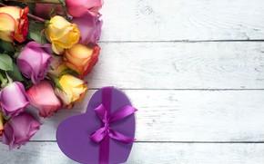 Picture gift, roses, tape, Vadim Zakirov