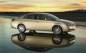 Picture sunset, Toyota, 2009, Avalon