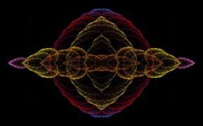 Picture spiral, saver, dark