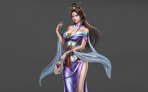 Picture Girl, Beautiful, Art, Style, Queen, Fiction, Characters, Dress, Figure, Three Kingdoms, An Hua