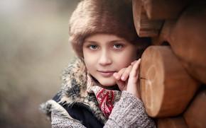 Picture portrait, girl, Russian beauty, Cherepko Denis