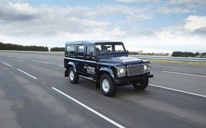 Picture track, prototype, Land Rover, Defender, 2013, All-terrain Electric Research Vehicle