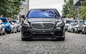 Picture Mercedes, AMG, 4MATIC, Mercedes-AMG S 63 4MATIC