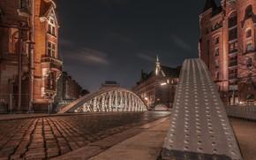 Picture night, the city, Hamburg