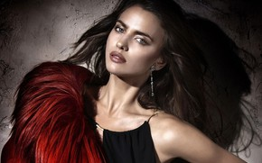 Picture look, pose, model, makeup, hairstyle, Irina Sheik, Irina Shayk, hair, actress, Irina Shayk