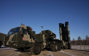Picture weapon, winter, russian, missile, S-400 Triumph, S-400, anti-aircraft