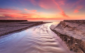 Picture sea, wave, beach, summer, the sky, sunset, shore, summer, beach, sky, sea, sunset, pink, seascape, …