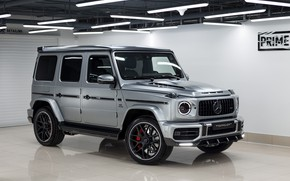 Picture Mercedes-Benz, AMG, G-Class, Gelandewagen, Ball Wed, G63, 2020, Light Package