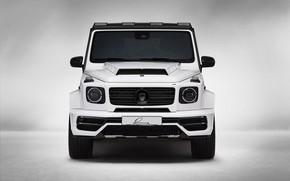 Picture Mercedes-Benz, front view, AMG, G-Class, Gelandewagen, G63, Lumma Design, 2019, LUMMA CLR G770