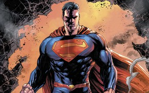 Picture logo, fantasy, man, comics, coat, Superman, artwork, superhero, costume, fantasy art, DC Comics, Clark Kent
