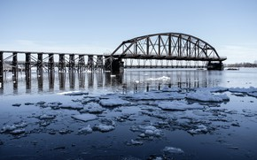 Picture nature, Duluth, Interstate Bridge