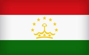 Picture Flag, Tajikistan, Tajik, Tajikistan Large Flag, Flag Of Tajikistan