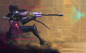 Picture Figure, The game, Blizzard, Art, Art, Sniper, Game, Amelie, Illustration, Character, Characters, Fan art, Science …