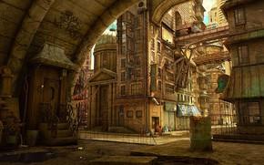 Picture the game, Machinarium, location, quest, roads, Machinarium