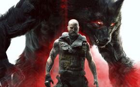 Picture wolf, man, werewolf, Werewolf: The Apocalypse – Earthblood