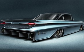 Picture Car, Art, Transport & Vehicles, Andreas Wennevold, 60' Oldsmobile Dynamic 88, by Andreas Wennevold, Oldsmobile …