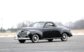Picture Dodge, Coupe, Old, Vintage, Retro, Vehicle, Series D19, Dodge Luxury Liner Deluxe