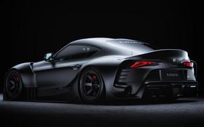 Picture Auto, Machine, Grey, Toyota, Car, Supra, Sports car, Transport & Vehicles, FLAT HAT 3D Studio, …