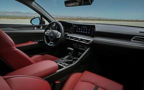 Picture interior, sedan, KIA, Kia, Optima, 2020, 2021, fastback, K5, K5 GT-Line AWD, Kia K5, KIΛ