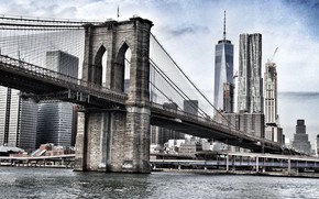 Picture Bridge, Flights, The city