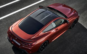 Picture roof, asphalt, coupe, BMW, Coupe, 2018, 8-Series, dark orange, M850i xDrive, Eight, G15