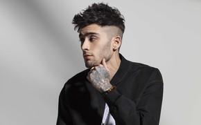 Picture look, tattoo, jacket, male, Zayn Malik