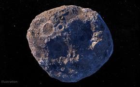 Picture Psyche, Asteroid, Пояс астероидов Марса