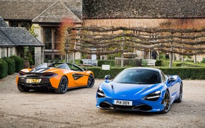 Picture McLaren, supercars, Spider, 570S, 720S