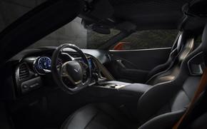 Picture Corvette, ZR1, Car, Interior