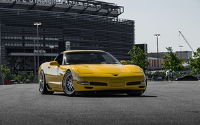 Picture Z06, Corvette, Chevrolet, Hybrid, Forged, Series, Yellow, Wheels, CCW, HS016