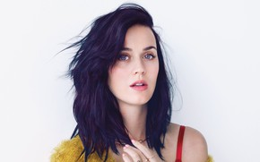 Picture brunette, Katy Perry, Katy Perry, singer, singer, Katy Perry