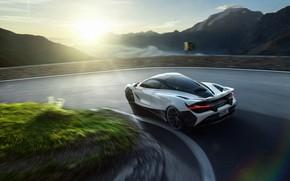 Picture McLaren, supercar, rear view, 2018, Novitec, 720S