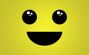 Picture eyes, smile, mouth, smiley