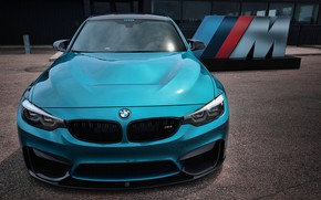 Picture BMW, Blue, F80, Sight, M-Performance