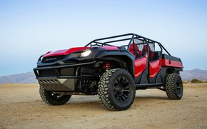 Picture Honda, 2018, Rugged Open Air Vehicle Concept, engine house protection