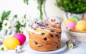 Picture holiday, eggs, spring, Easter, cake