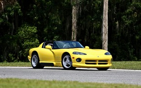 Picture Roadster, Dodge, Viper, Yellow